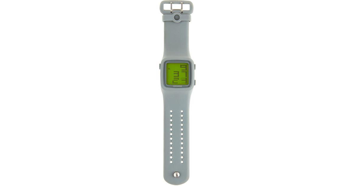 739e9d3984fa48 Lyst - Converse Scoreboard Watch Gray in Gray for Men