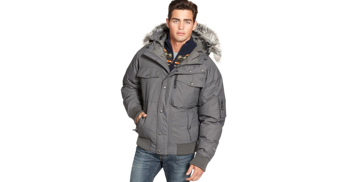 902e67588d ... mens gotham iii jacket tnf black bythe north face at daves new order  lyst the north face gotham hyvent down jacket in gray for men b5426 60640  ...