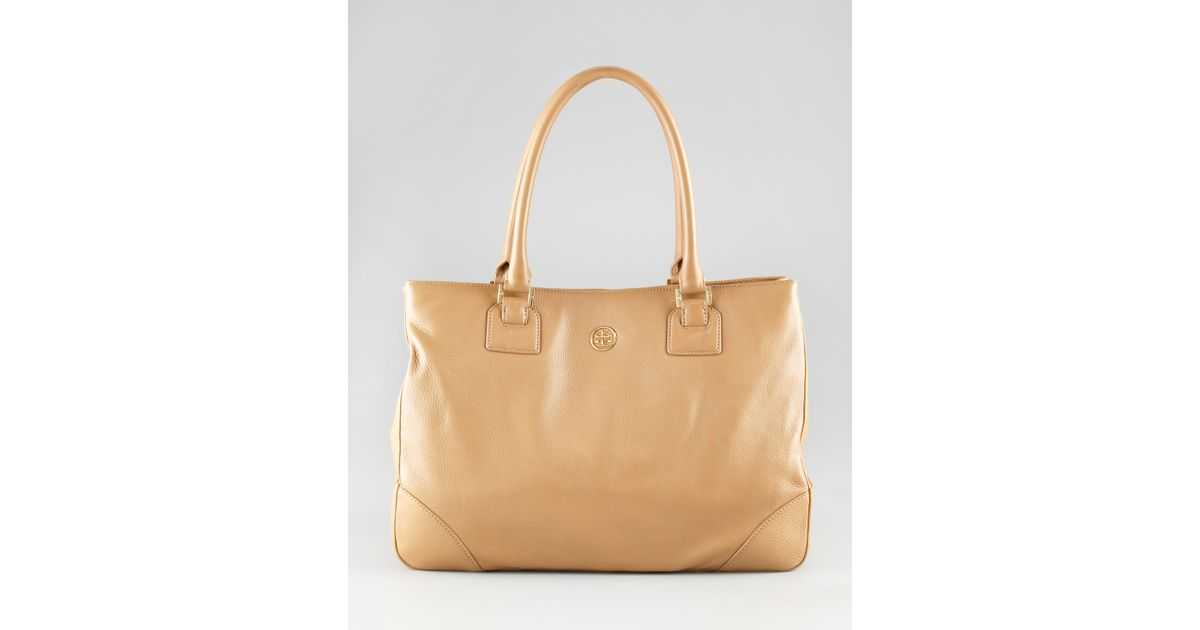 d157410d9e78 Lyst - Tory Burch Robinson Eastwest Tote Bag in Natural