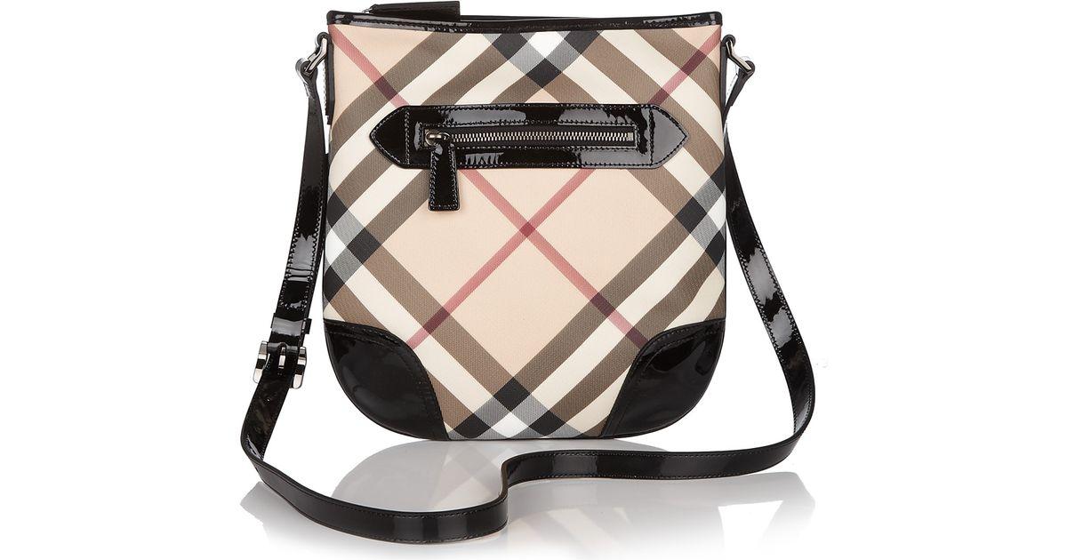 1bb20c0f7ff4 Lyst - Burberry Crossbody Bag in Black