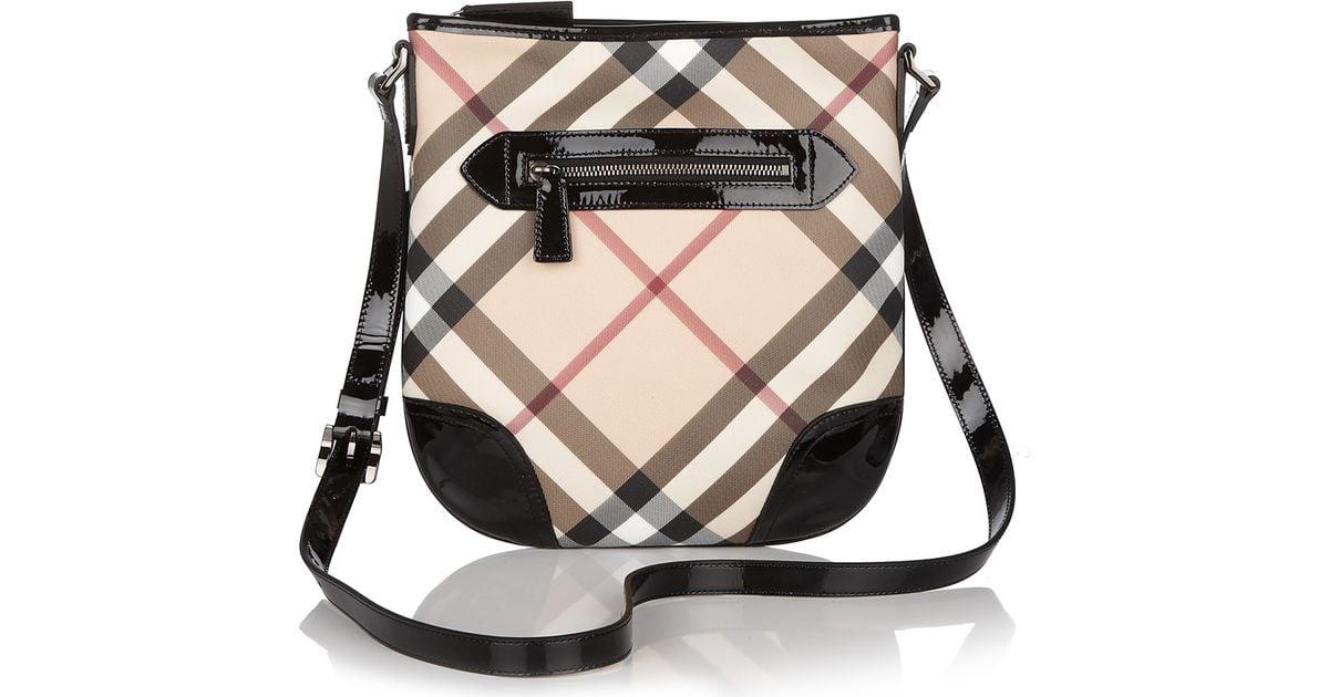 Lyst burberry crossbody bag in black jpeg 1200x630 Burberry bags for women e700ecbc7aa69