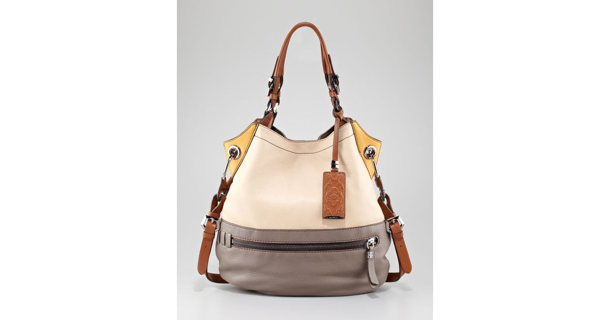 595286008fe3 orYANY - Multicolor Sydney Colorblock Shoulder Bag - Lyst