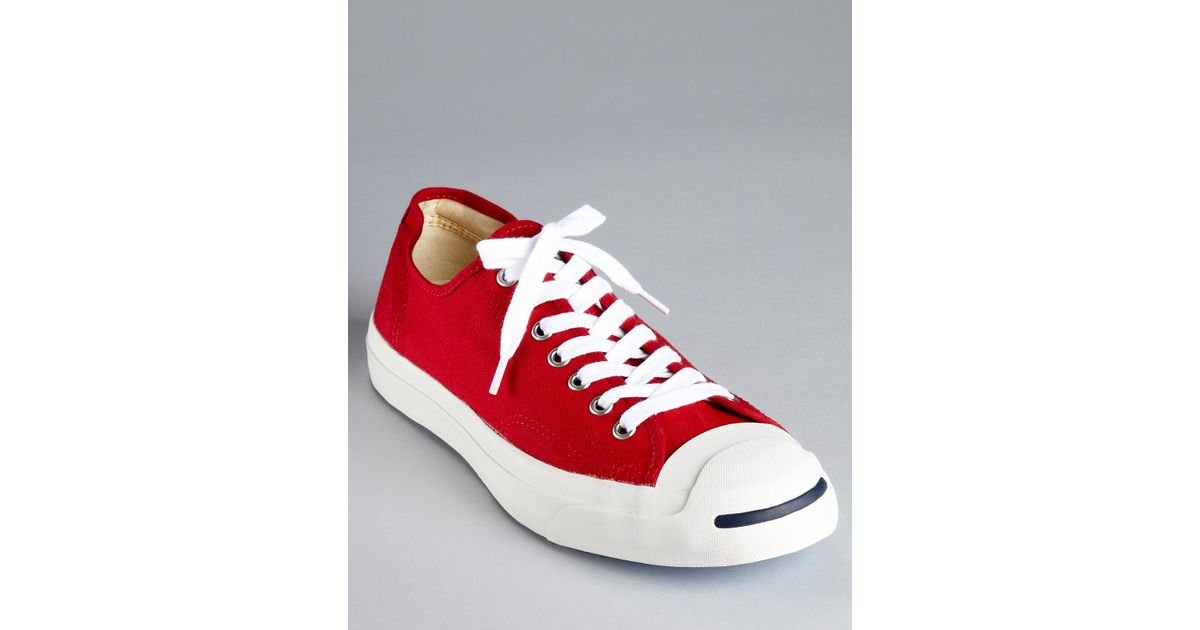 21bda4850c8d8e Lyst - Converse Jack Purcell Ltt Sneakers in Red for Men