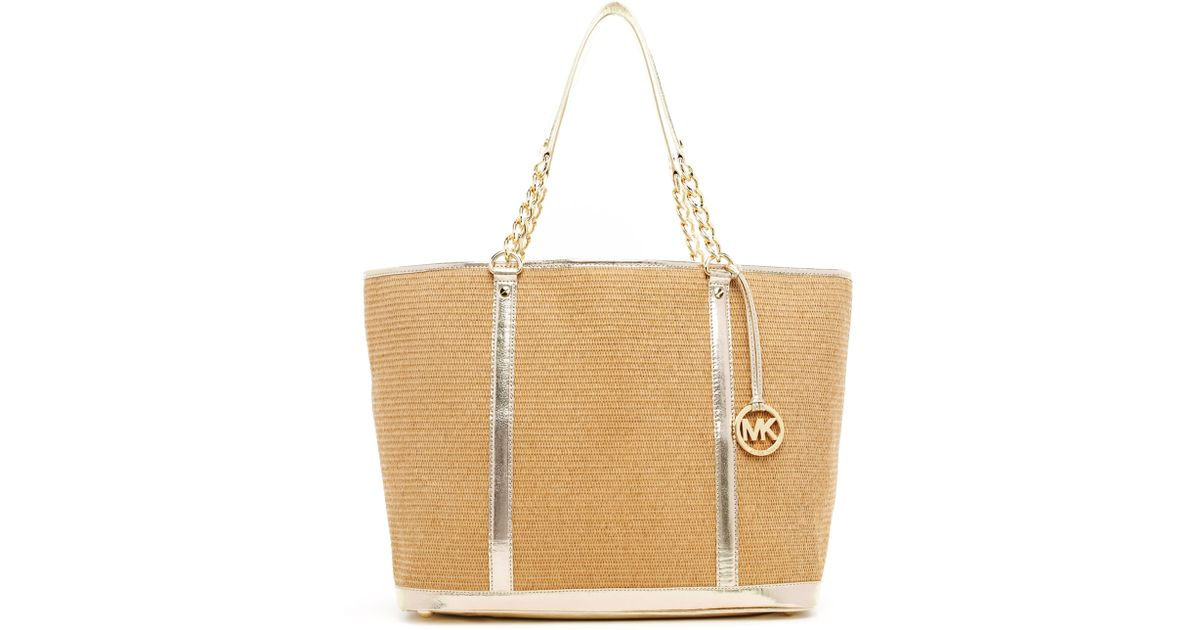 66addf8b1d54 Michael Kors Straw Handbag - Foto Handbag All Collections ...