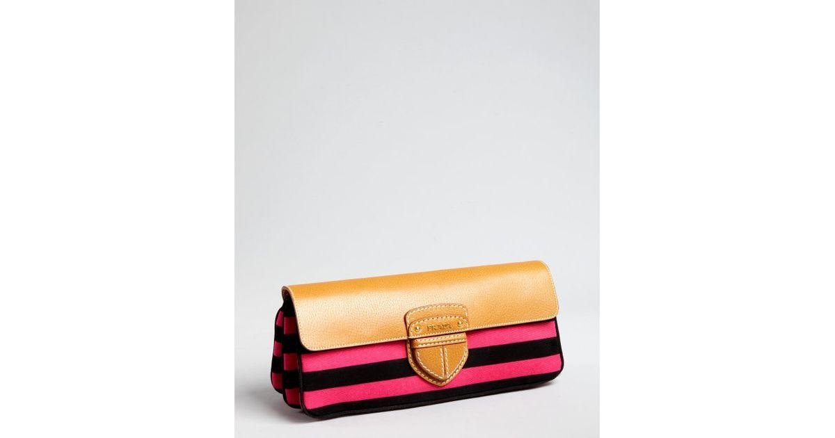 buy prada wallet online - prada nappa dice clutch, copy prada bags