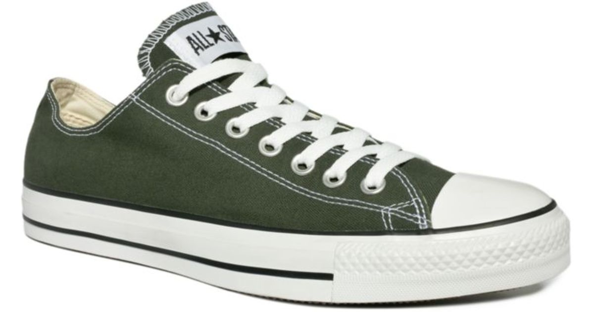 7fda05e9c285 Lyst - Converse Chuck Taylor All Star Sneakers in Green for Men