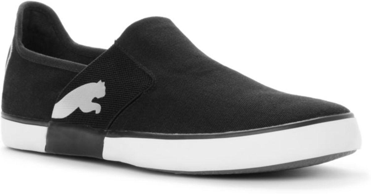 b37d8d051b41b9 ... shoe  lyst puma lazy slip on sneakers in black for men ...