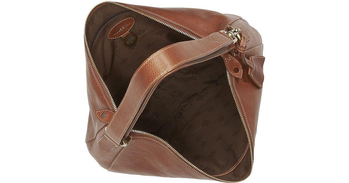 ecc04a53cb Mulberry Bella Messenger Bag in Brown - Lyst