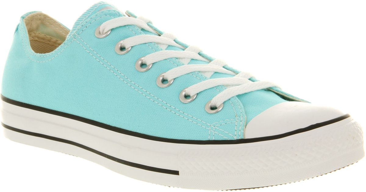 34f9dbf97f7a Converse All Star Ox Low Aruba Blue Exclusive in Blue for Men - Lyst