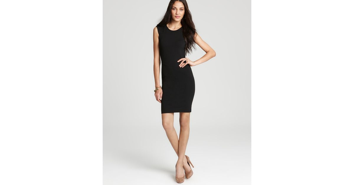 French Connection Black Dress Dani Lace Open Back Lyst