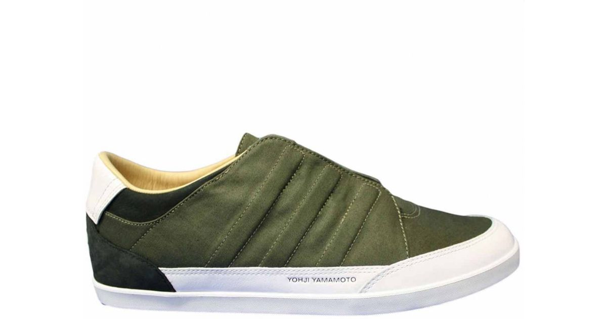 592e5bb1fb6f9 Y-3 Honja Low Greenwhite in Green for Men - Lyst