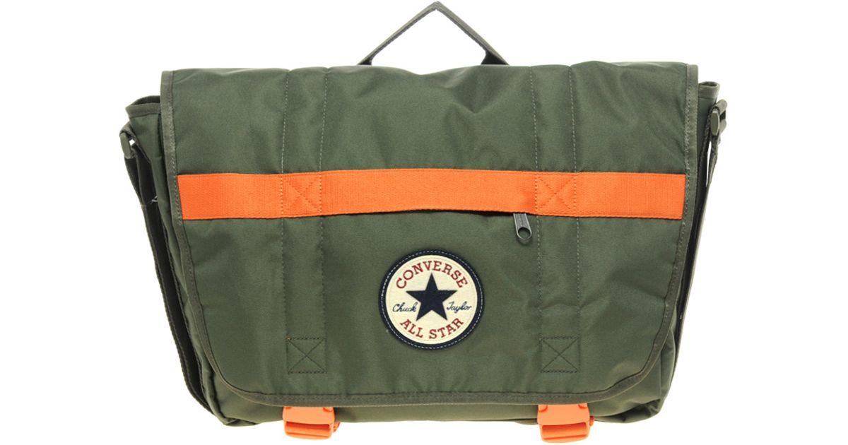 Lyst - Converse Messenger Bag in Green for Men cbb3bd0b4f1dc