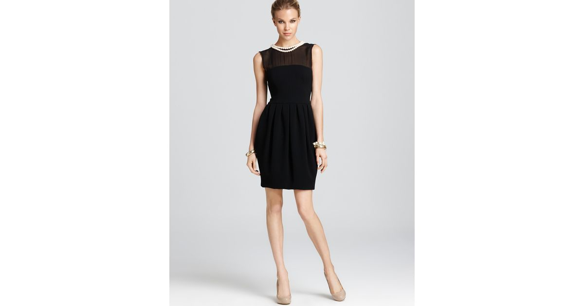 Lyst Boutique Moschino Sleeveless Dress With Pearl