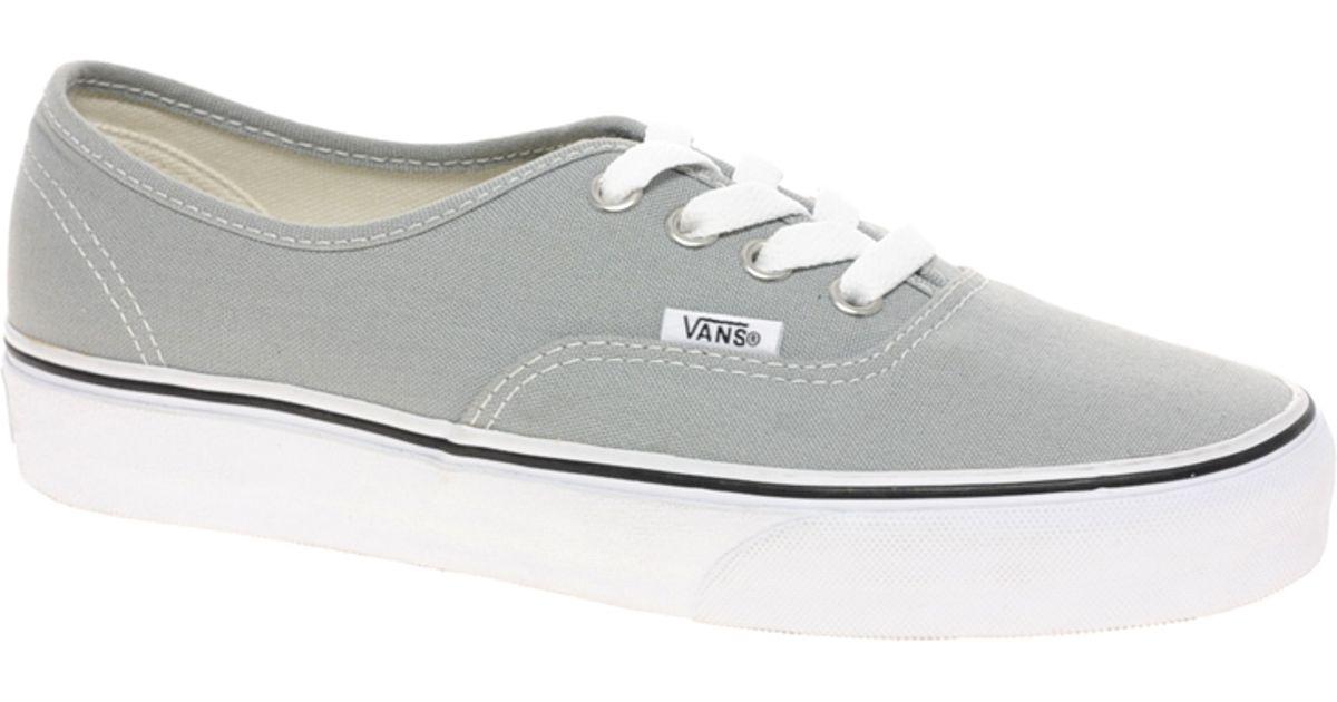 vans gray