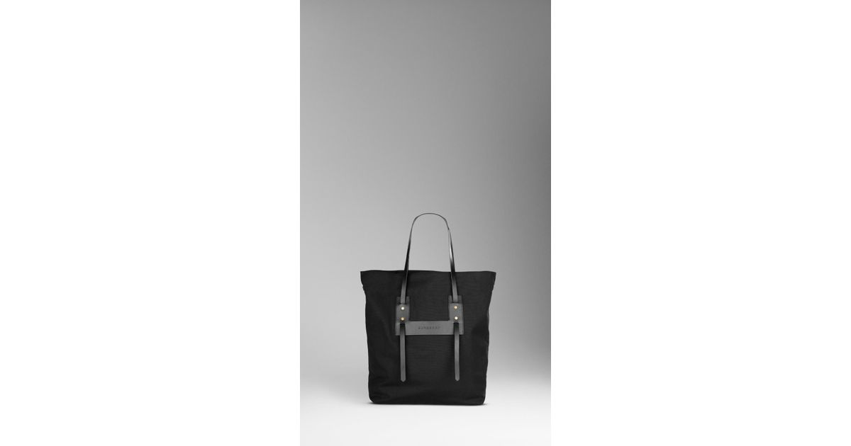 d02a6f50180 Lyst - Burberry Canvas Weekend Tote Bag in Black for Men