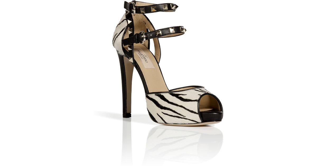 Valentino Zebra Patterned Pumps cheap sale tumblr discount looking for best place for sale HlNEa
