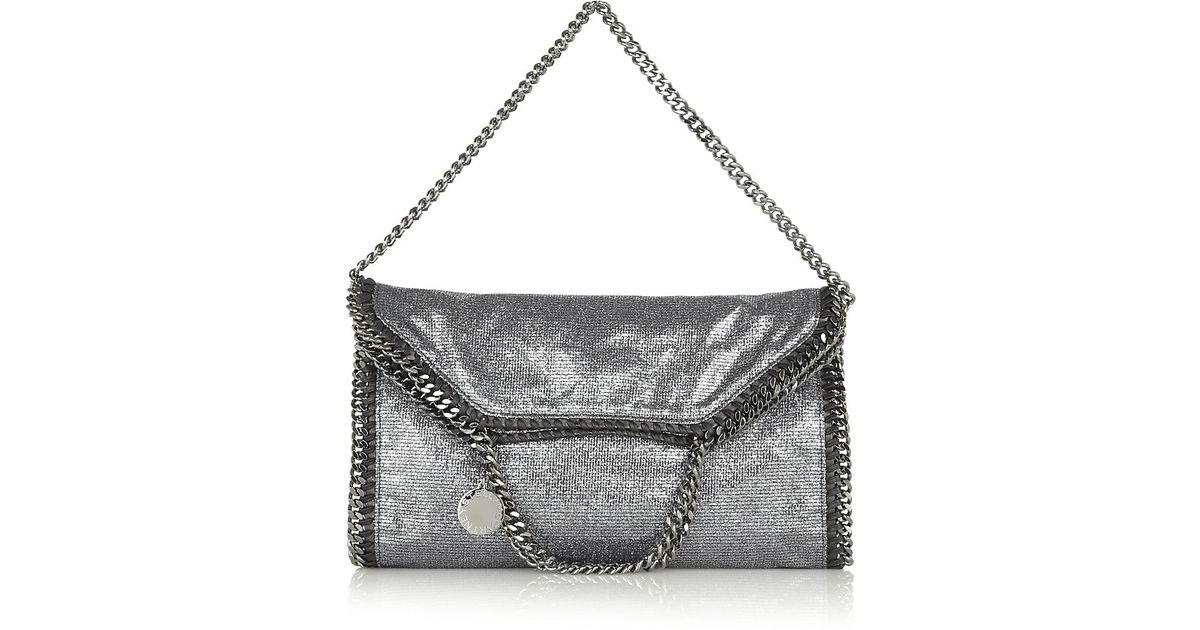 Stella McCartney Falabella Triple Handle Bag in Metallic - Lyst fcf55b928561f