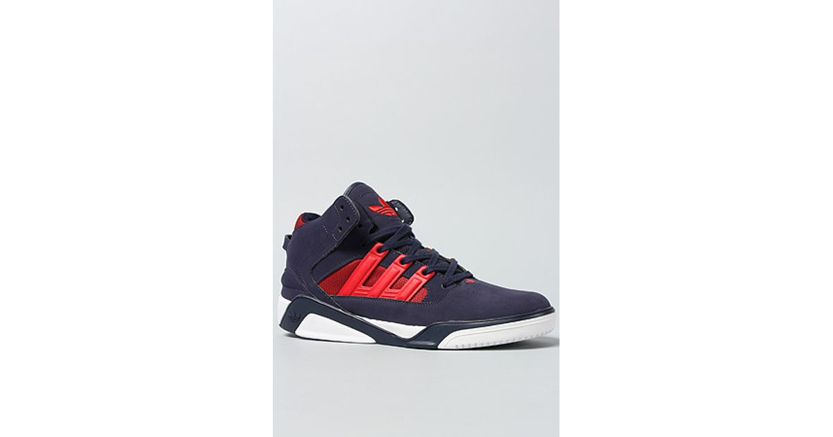 sports shoes 89ea3 dacfd Lyst - Adidas The Court Blaze Lqc Sneaker in Blue for Men