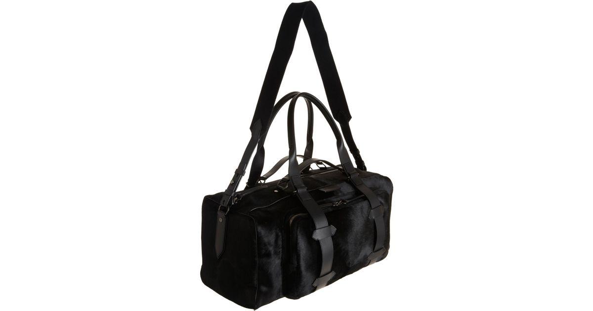 3478435814 Givenchy Ponyhair Duffel Bag in Black for Men - Lyst