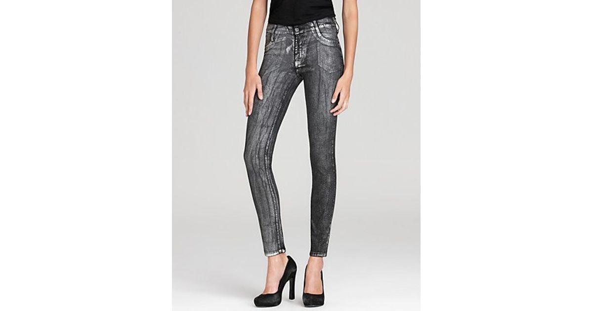6e3c2f53b7da32 Lyst - James Jeans Five Pocket Leggings in Gray