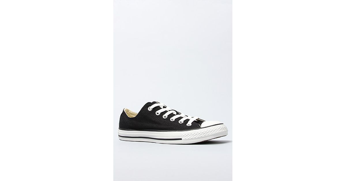 2542252183f1 Lyst - Converse The Chuck Taylor All Star Double Tongue Plaid Sneaker in  Black in Black