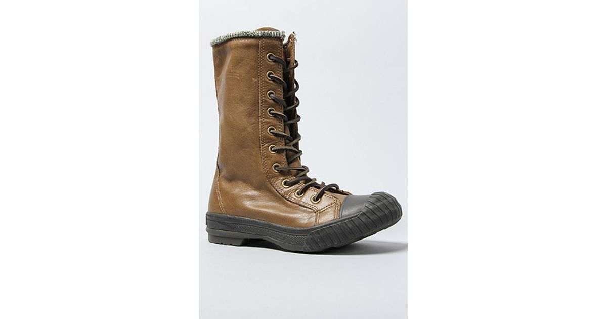 fb6a4346d042 Lyst - Converse The Premium Chuck Taylor All Star Bosey Boot in Brown in  Brown