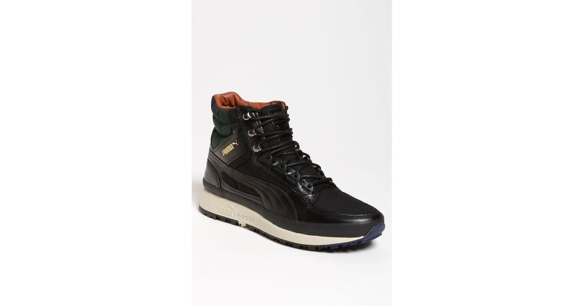 Alexander mcqueen x puma Montapon Luxe Boot in Black for Men ... 1c71d0ac6