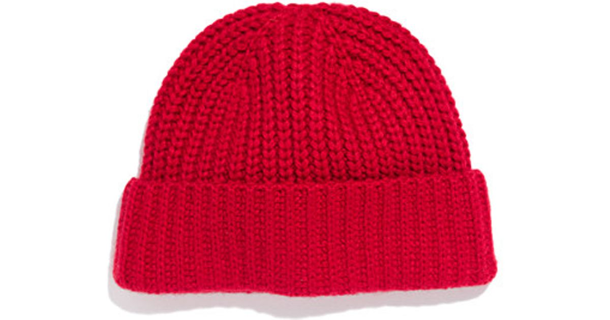Lyst - Madewell Winter Hat in Red