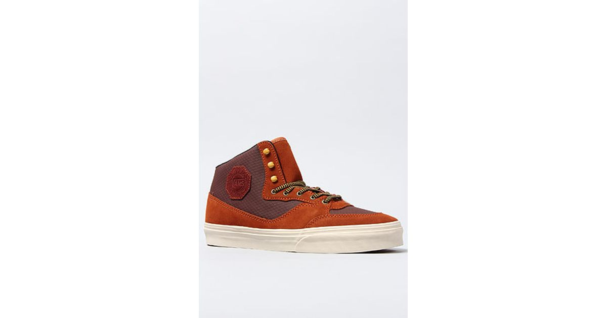 883234bad3 Lyst - Vans The Buffalo Boot Ca Sneaker in Vintage Bitter Chocolate in  Brown for Men