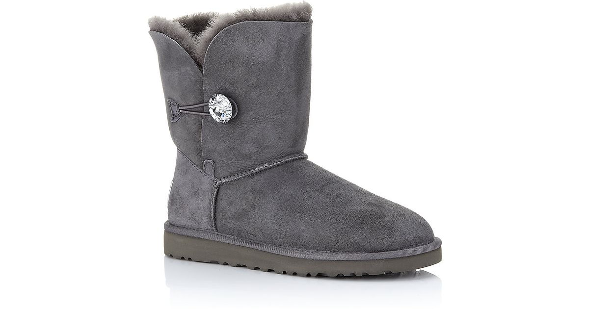 cac72c33297 UGG - Gray Bailey Bling Boot - Lyst
