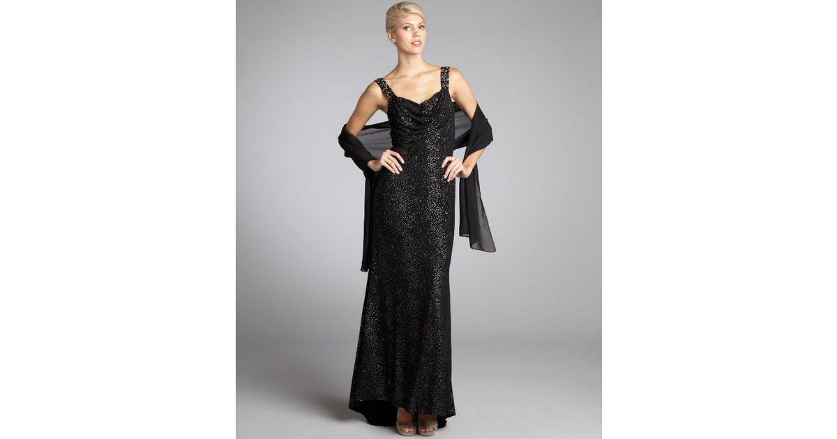 Lyst - Alberto Makali Speckled Stretch Jersey Knit Embellished ...
