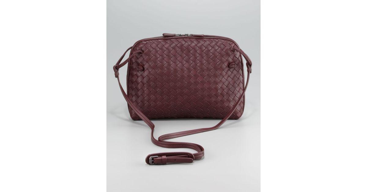 1b90382966 Lyst - Bottega Veneta Veneta Crossbody Pillow Bag in Brown