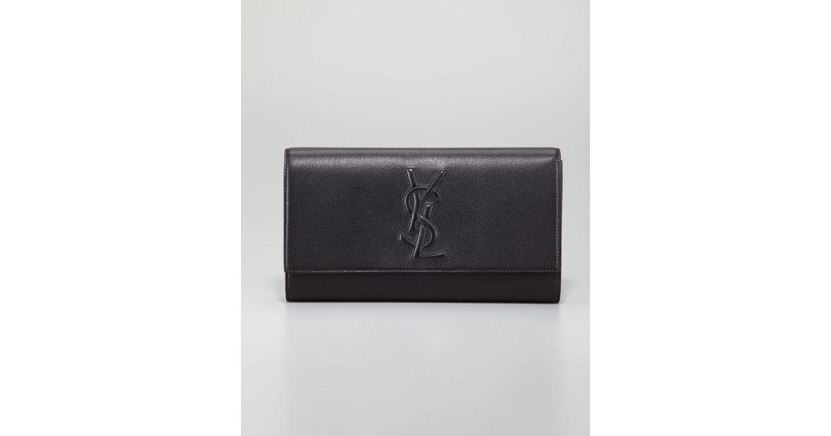ysl accessories - ysl black clutch bag