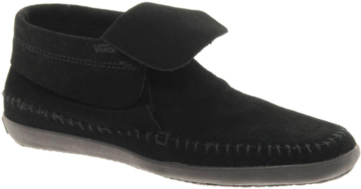 vans black boots