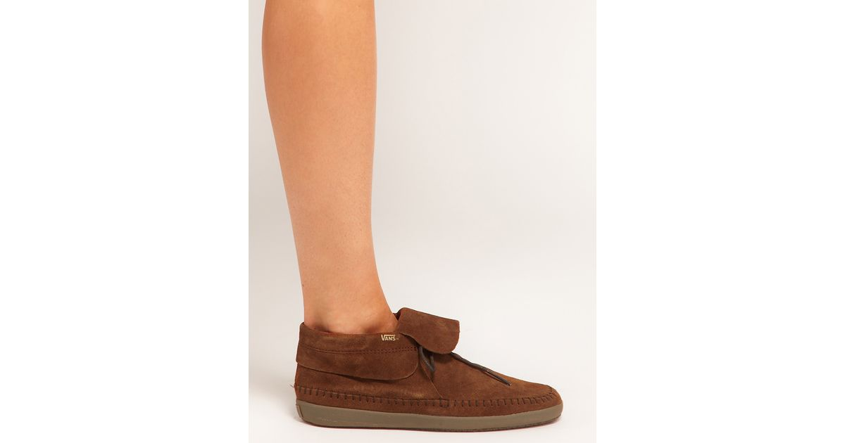 5a092f782d1b4b Lyst - Vans Surf Mohikan Brown Ankle Boots in Brown