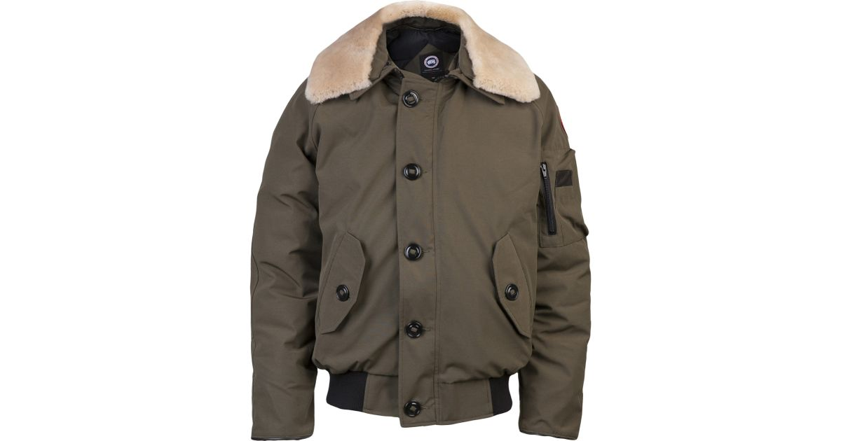 real canada goose foxe bomber red b8976 f3793