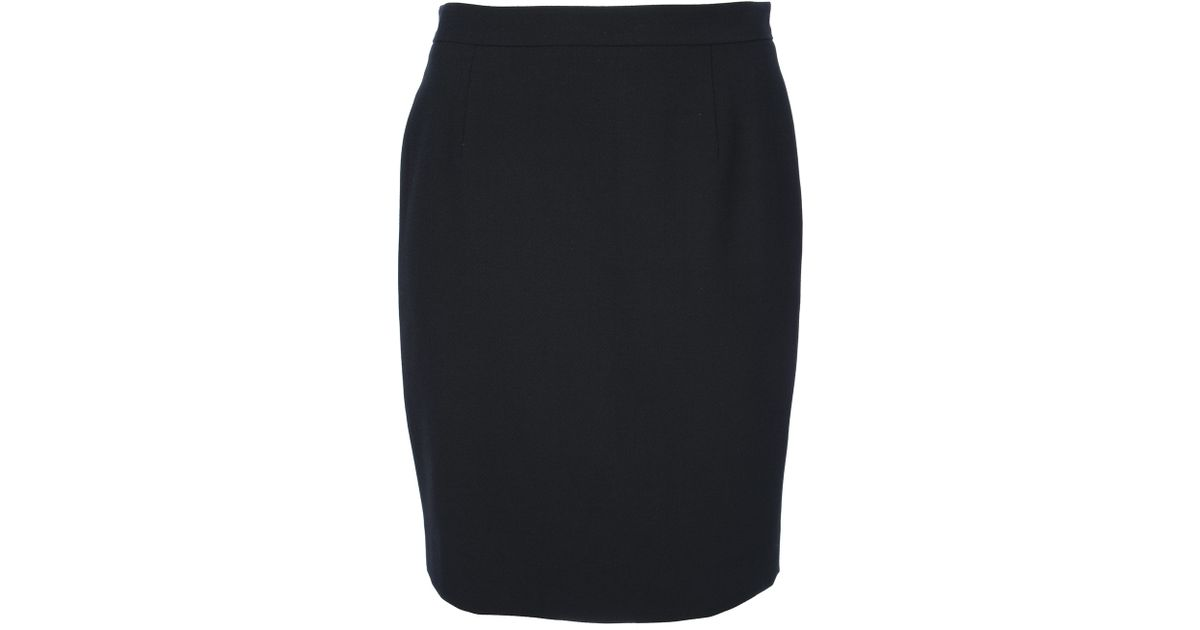 Black short pencil skirt – Modern skirts blog for you