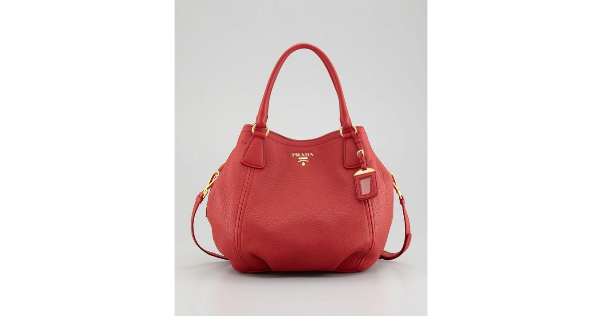 a4133d5570e8 ... purchase best price prada tote red west 0e5d4 6adbc 7a651 163d9