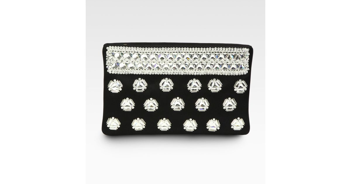 prada raso rose clutch