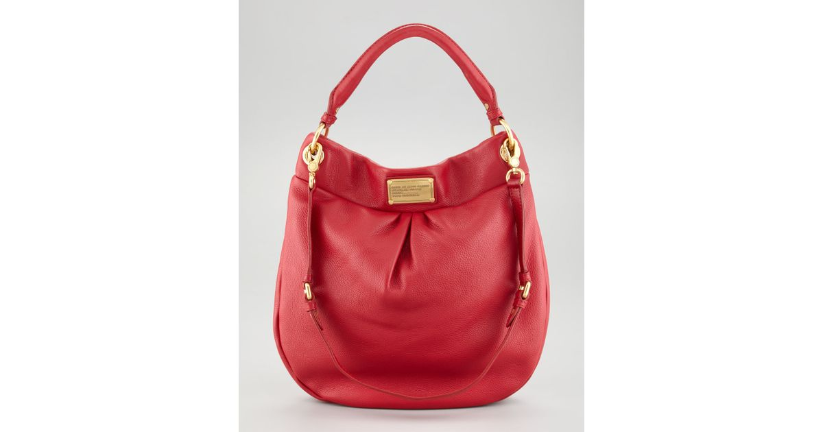 d79790f0da Marc By Marc Jacobs Classic Q Hillier Hobo Bag in Red - Lyst