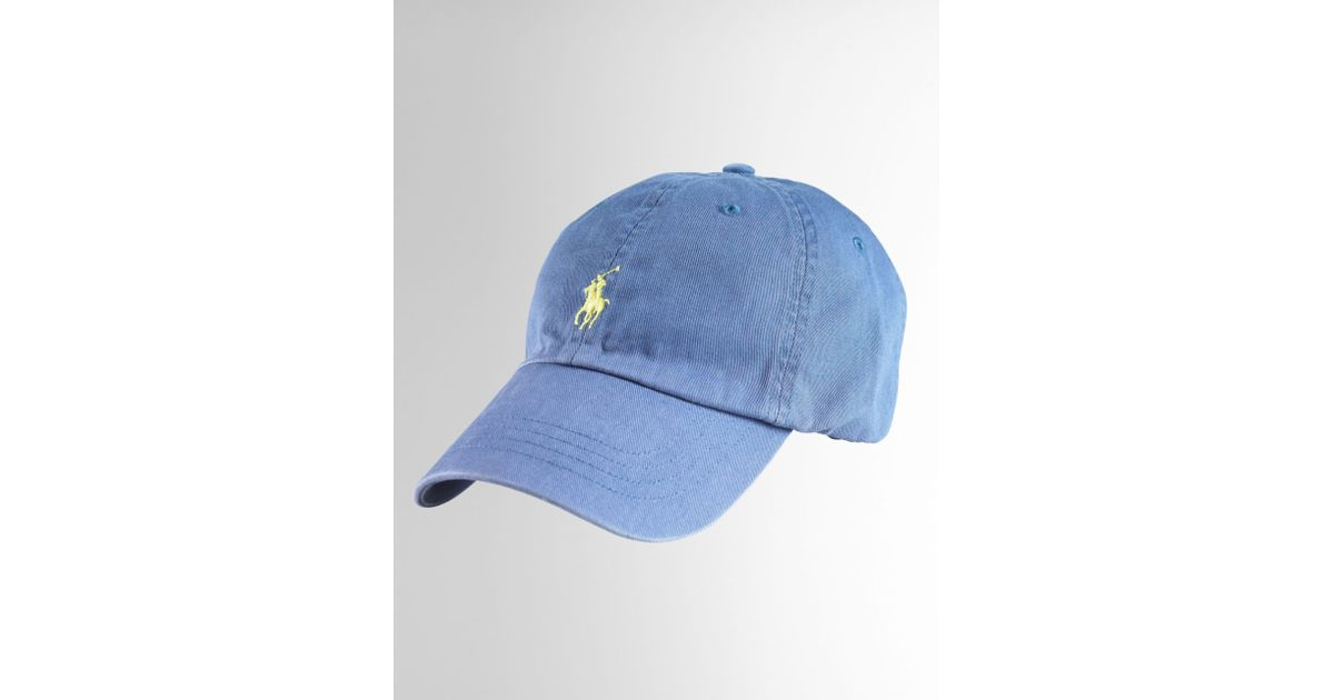 192655f7a76 Lyst - Polo Ralph Lauren Polo Player Hat for Men