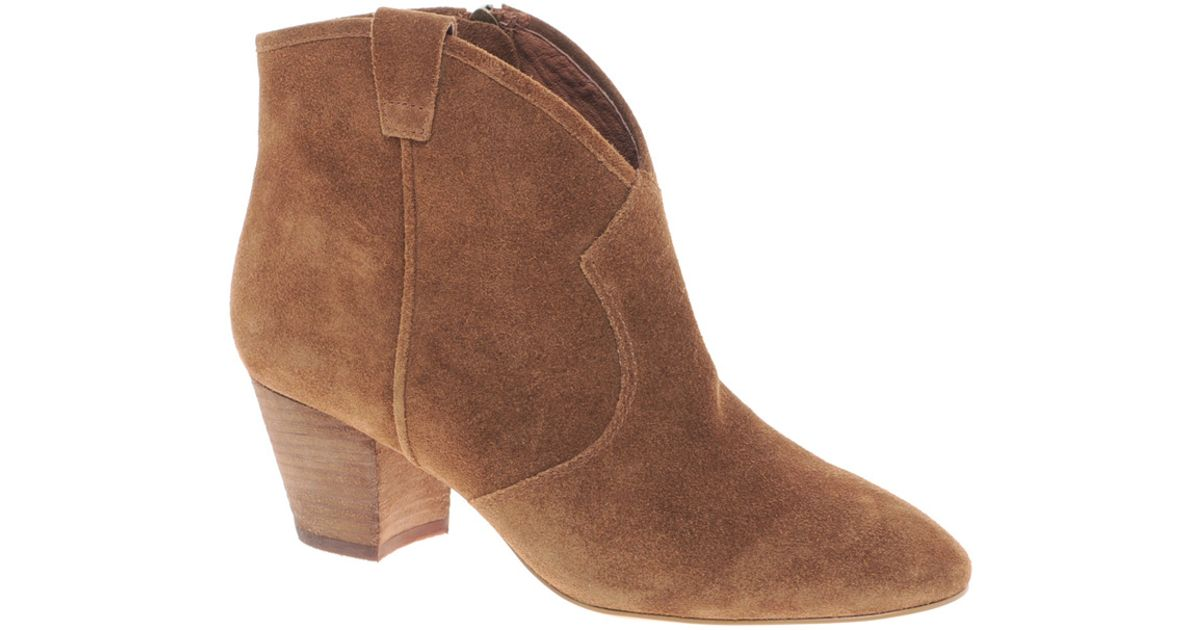 0aa5d04fd9881 Lyst - Ash Spiral Camel Western Boots in Brown