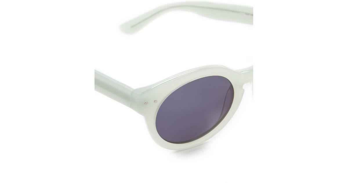 37128750ee Lyst - Madewell Hepcat Sunglasses in Green