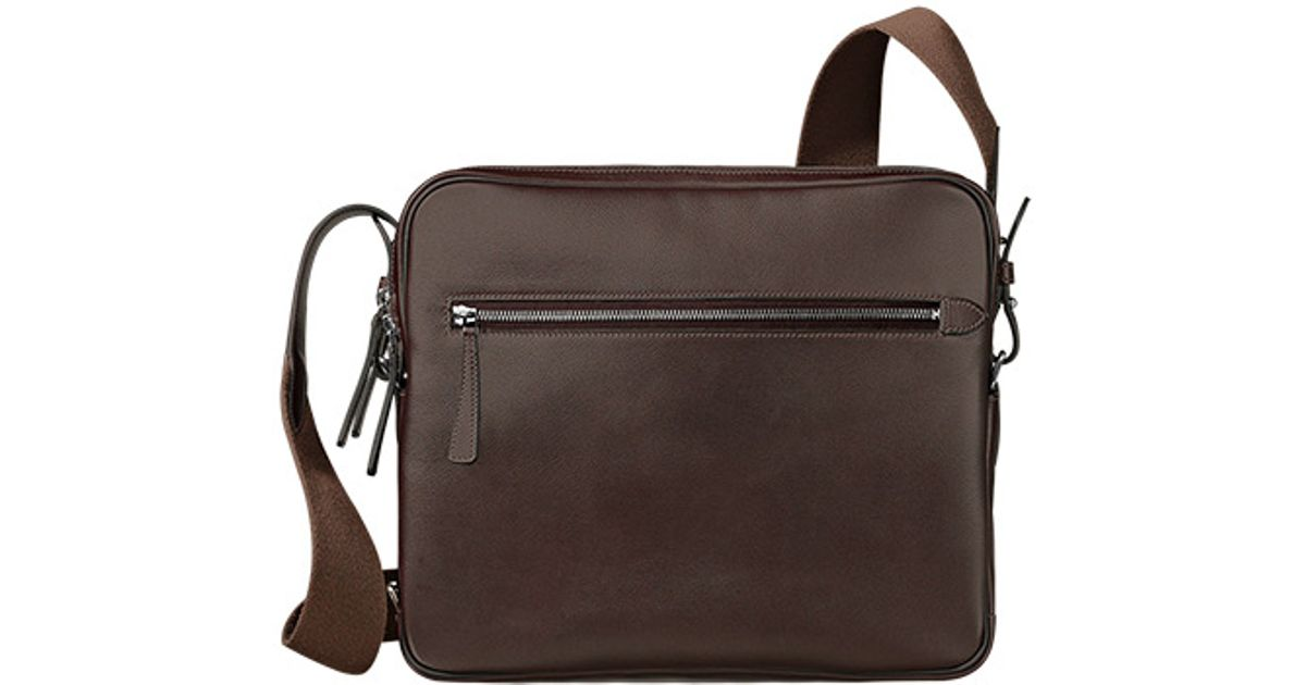 hermes Soie Cool medium mango/deer brown
