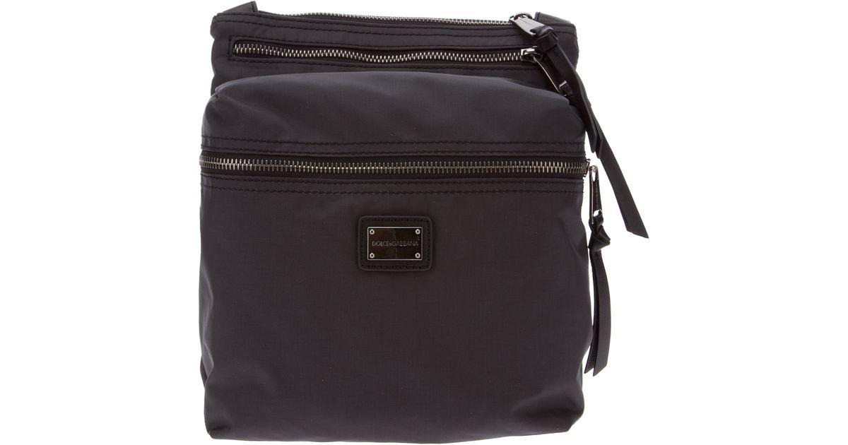 ccf35b3ec6 Lyst - Dolce   Gabbana Shoulder Bag in Gray for Men