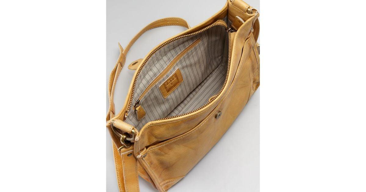 c19c942891 Lyst - Frye Campus Crossbody Bag in Yellow