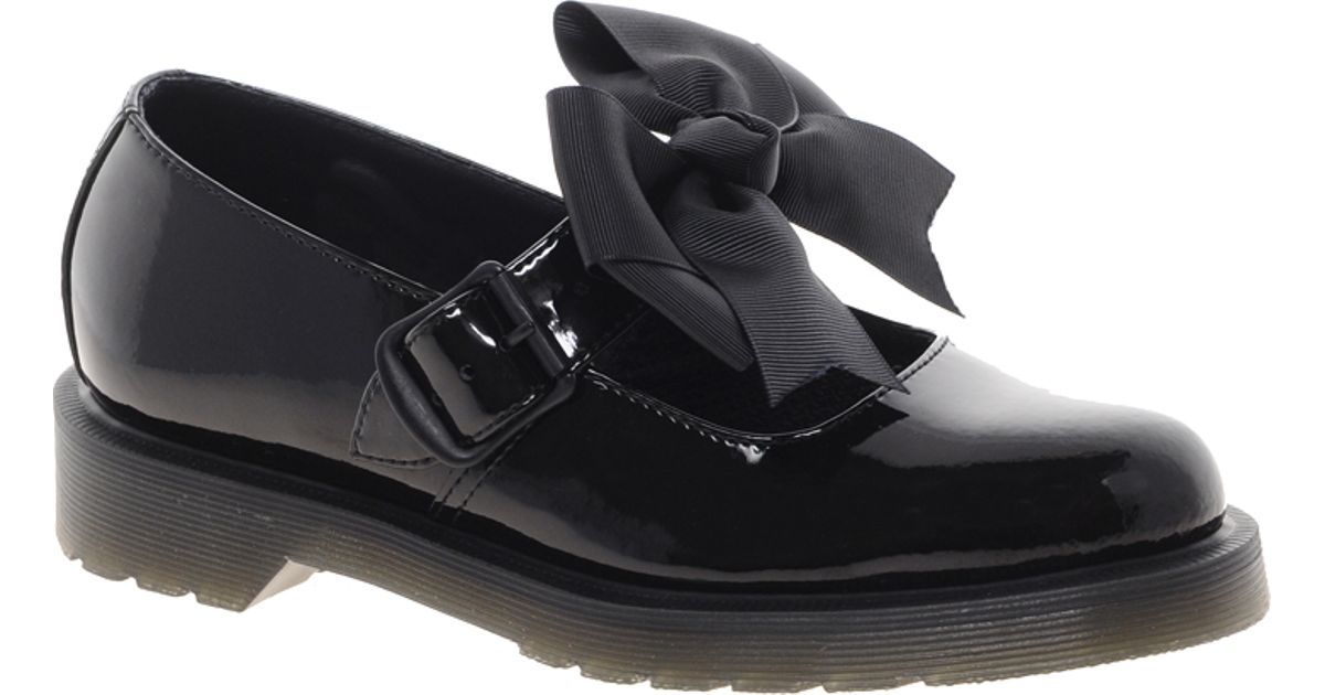 Lyst Dr Martens Mariel Bow Mary Jane Shoes In Black