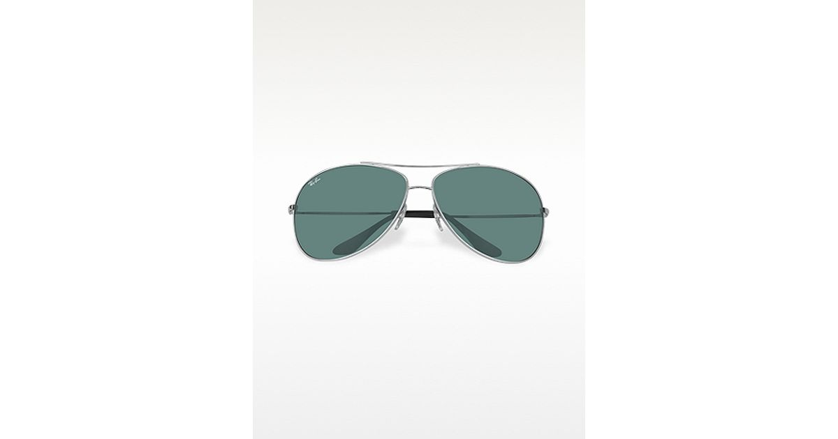 a83ba4e7d4 Lyst - Ray-Ban Highstreet Metal Frame Sunglasses in Green for Men