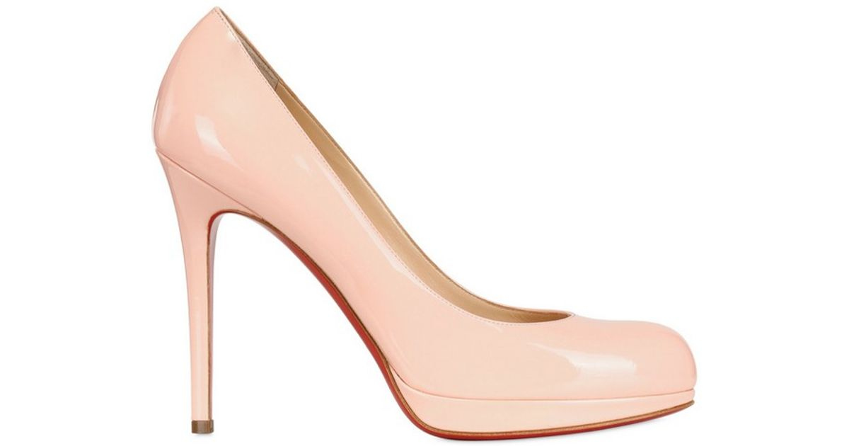 732020e05257 Christian Louboutin Simple Pump Patent Pumps in Pink - Lyst