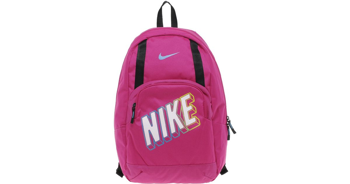 Lyst - Nike Classic Sand Backpack in Pink 1083b6375a665